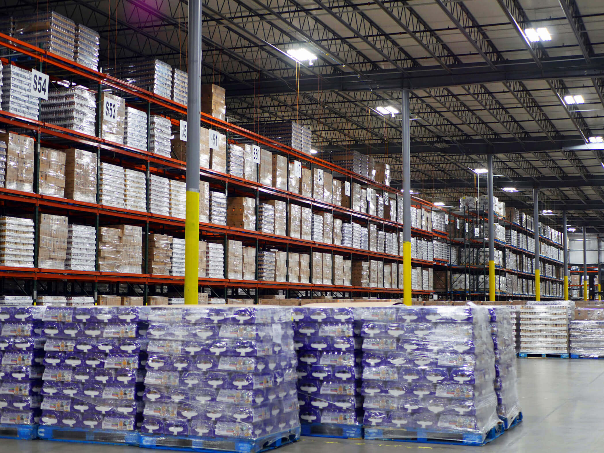 Large Food Grade Warehouse Stocked
