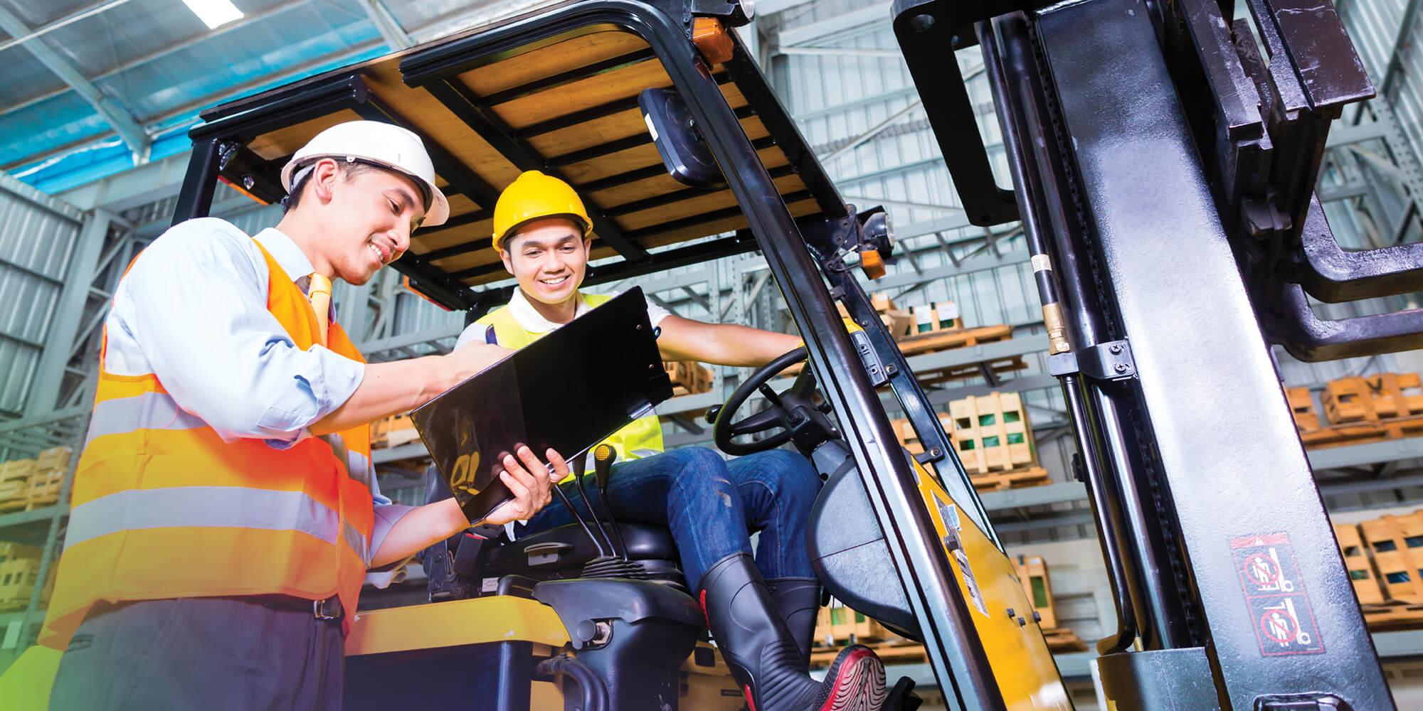 WMS Warehousing Management Logistics Workers