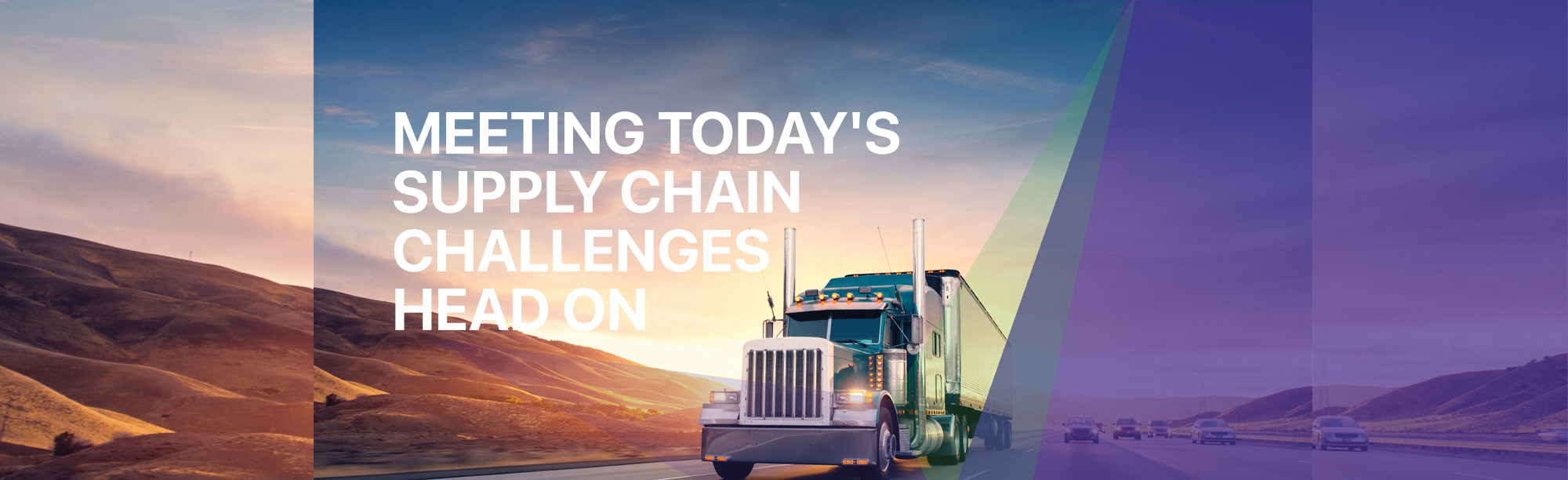 Meeting today's supply chain challenges head on